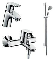 Focus Comfort Set Душевой набор смесителей для ванны (31730000+31940000+27763000)