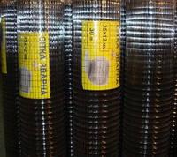 Металлическая сварная сетка 12,5х12,5х0,9мм