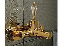 Смеситель для ванны VENEZIA Diamonod Gold 5010201 (Бесплатная доставка  )
