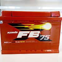 Акумулятор автомобільний 75 FB Standart