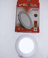 Встраиваемый светодиодный светильник Ecolux 12W