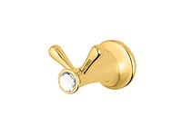 Крючок двойной KUGU Bavaria 310G (латунь, золото)(Бесплатная доставка  )