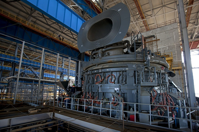 Монтаж электросталеплавильного цеха (ЭСПЦ)