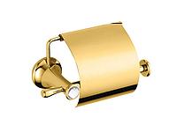 Держатель для туалетной бумаги KUGU Bavaria 311G (латунь, золото)(Бесплатная доставка  )