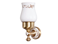 Стакан для зубных щеток KUGU Medusa 706A (латунь, бронза, керамика)(Бесплатная доставка  )