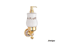 Дозатор для жидкого мыла KUGU Medusa 714A (латунь, бронза, керамика)(Бесплатная доставка  )