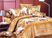 Комплект постельного белья Собаки ренфорс евро