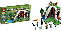 Конструктор BELA Minecraft База водопада 747 деталей аналог LEGO
