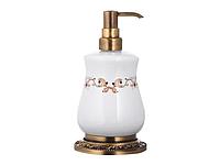 Дозатор для жидкого мыла KUGU Medusa Freestand 730A (латунь, бронза, керамика)(Бесплатная доставка  )