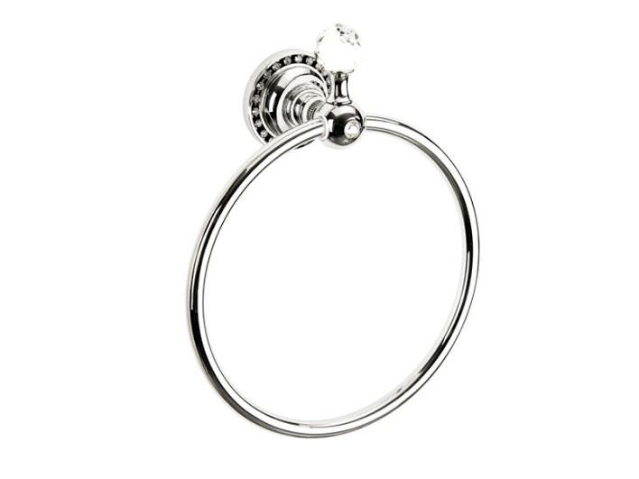 Полотенцедержатель кольцо KUGU Swan 404C (латунь, хром)