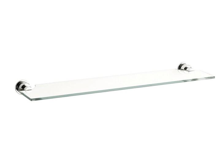 Полка для ванной комнаты KUGU Eva 103 (латунь, хром, стекло)(Бесплатная доставка  )