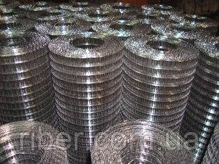 Сварная металлическая сетка 25х12,5х0,6мм
