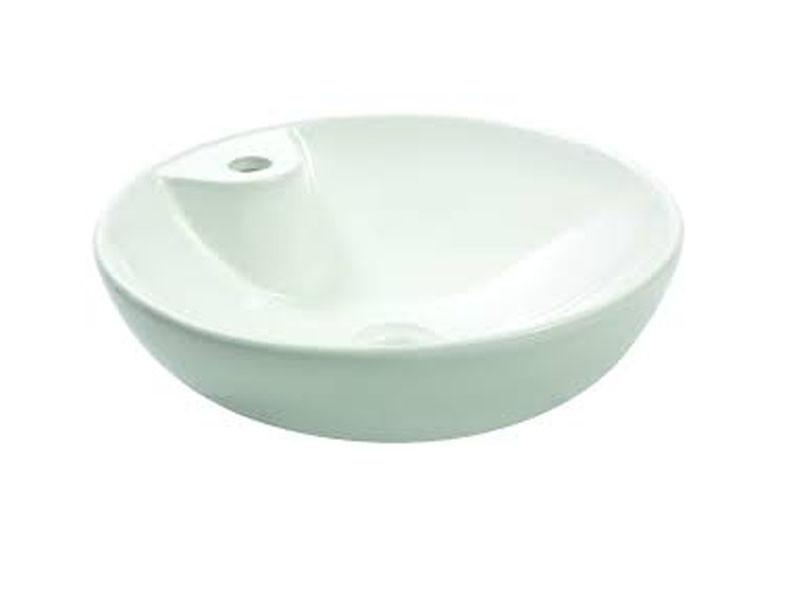 Раковина накладная керамическая NEWARC Countertop 45 (5010BT) белый, б/п, (45*45*14.5)