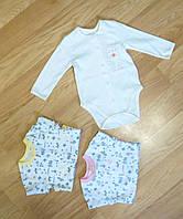 Боди для новорожденных интерлок (рост 68 см)