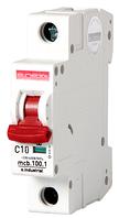 Модульный автоматический выключатель C10, 1 р, 10А, C, 10кА