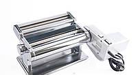 Электрическая машинка для раскатки теста+лапшерезка Akita JP 260mm Pasta Motor