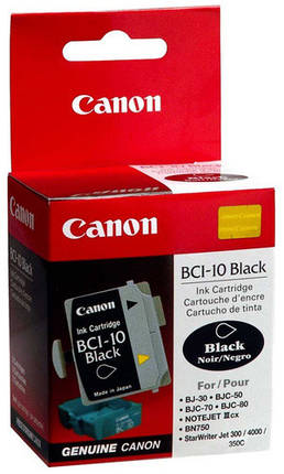 Чернильница Canon BCI-10Bk 3pcs BJC-50/ 55/ 80/ 85, фото 2