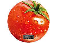 Весы кухонные 5 кг. ViLgrand  VKS-519_Tomato