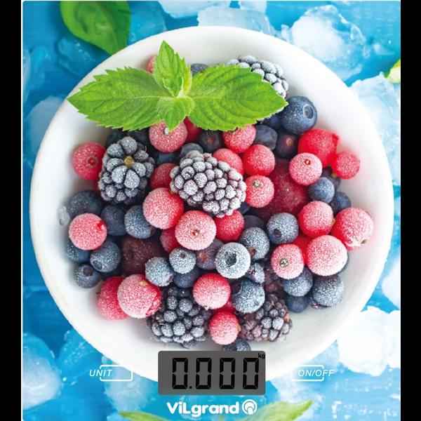 Весы кухонные 5 кг. ViLgrand VKS-525_Berries