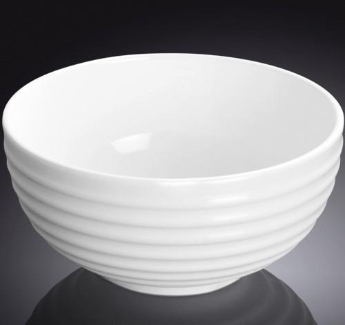 Салатник фарфоровый Wilmax 11,5 см с волнистой поверхностью