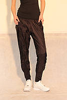 Женские спортивные штаны ADIDAS (03949-1) черные  код 0106 Б