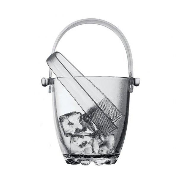 Ведро для льда (стеклянное, 13 см) Pasabahce 53628 Sylvana
