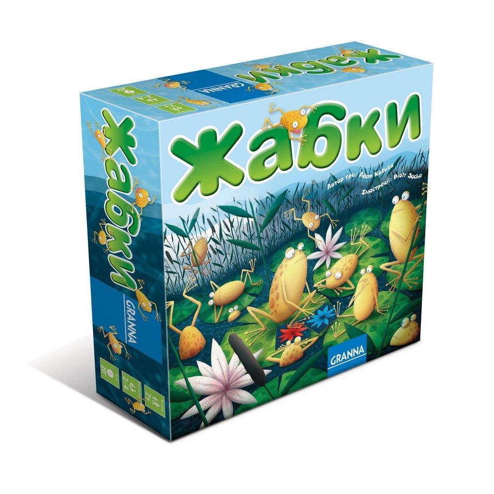 Настольная игра Granna Лягушки (82838)