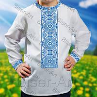 Заготовка сорочки для хлопчика Д-1202 габарди