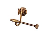 Держатель для туалетной бумаги KUGU Versace Antique 212A (латунь, бронза)(Бесплатная доставка  )