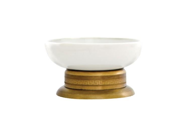 Мыльница KUGU Versace Freestand 260A (латунь, бронза, керамика)