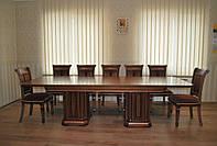 Конференц стол из массива дерева Колизей