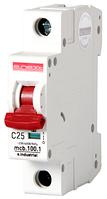 Модульный автоматический выключатель C25, 1 р, 25А, C, 10кА
