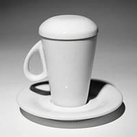 Чашка з кришкою (150мл) 72(6)шт F2775