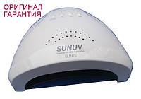 Гибридная светодиодная UV/LED лампа SunOne 48 вт (Сан ван ) ОРИГИНАЛ с переключением на 24 вт. Белая.
