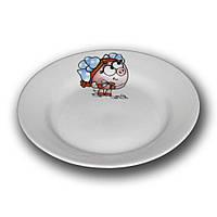 Тарелка фарфоровая 175мм. Смешарики