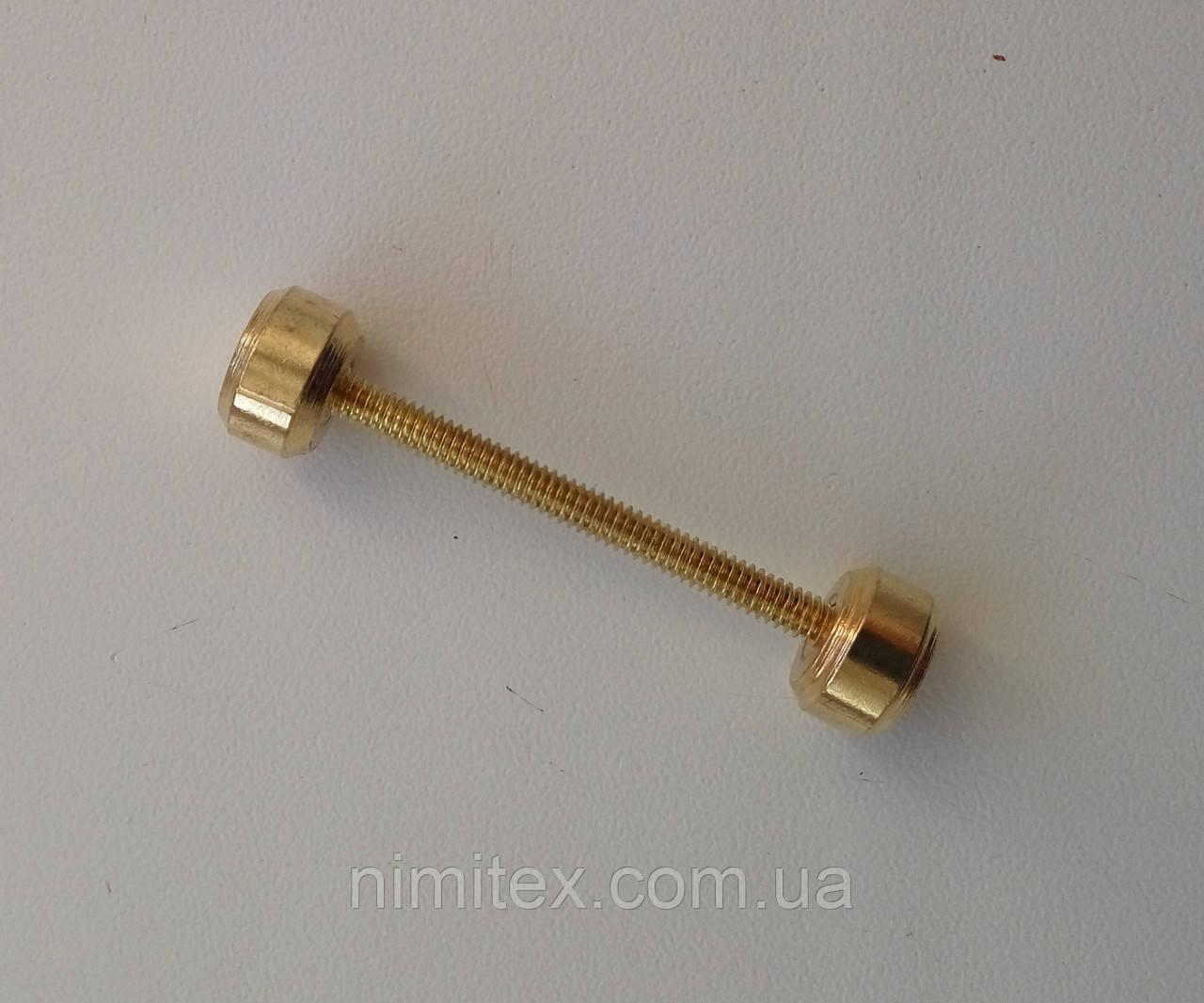 Штанга 30 мм золото