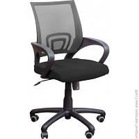Офисное Кресло AMF Веб сиденье Сетка черная/спинка Сетка серая (116929)