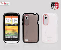 Высокопрочный силиконовый чехол HTC Desire V T328w/Desire X