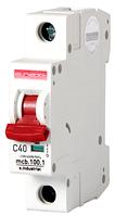 Модульный автоматический выключатель C40, 1 р, 40А, C, 10кА