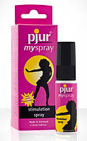 Возбуждающий спрей для женщин pjur My Spray 20 мл