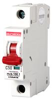 Модульный автоматический выключатель C50, 1 р, 50А, C, 10кА
