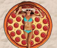 Подстилка коврик на пляж Пицца