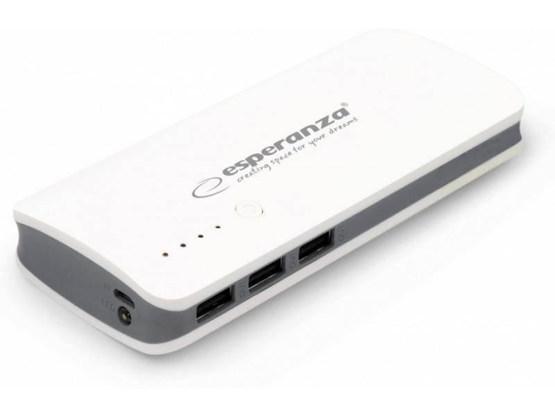 Универсальная батарея Power Bank Esperanza EMP106WE 8000 mAh