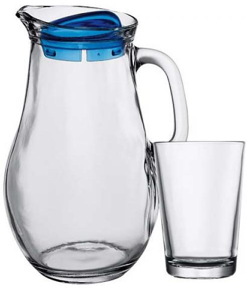 Набор стаканов для сока с графином (7 пр.) Pasabahce Bistro 97346