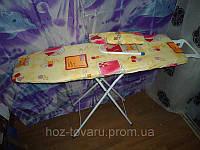 Доска гладильная Мрия XL ДСП с рукавом без удлинителя 115 см Х 36 см