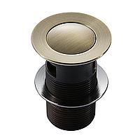 Клапан донный  Pop-up, бронза