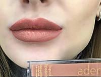 Помада жидкая стойкая Liquid lipstick Aden №2