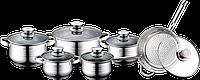 Набор посуды Royalty Line RL 1231 5 каструль + сотейник, фото 1
