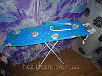 Доска гладильная Мрия XL ДСП с рукавом с удлинителем 115 см Х 36 см