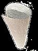 ИТАЛЬЯНСКАЯ ГОФРИРОВАННАЯ БУМАГА CARTOTECNICA ROSSI металлик Серебро+белая 50X250 СМ N802